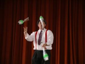 St. Louis Circus Performer