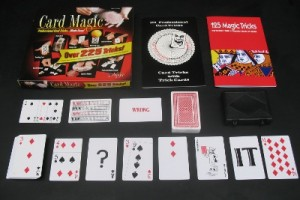Card Magic Set - inside glimpse