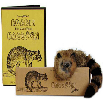 Comedy Raccoon Puppet and DVD