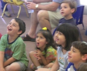preschool entertainment St. Louis - kids laughing
