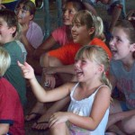 field day activities - audience having fun