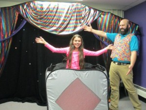 birthday party magic show appearance