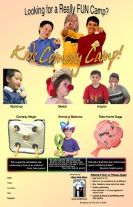 kids comedy camp