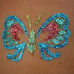 glitter tattoo artist