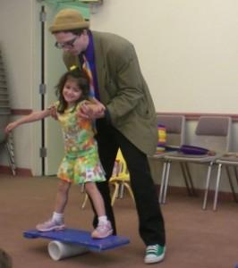 artist in residency circus