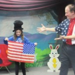 July 4th Magic show/workshop