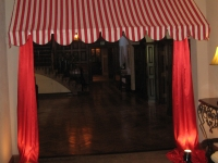 circus-awning-circus theme party St. Louis