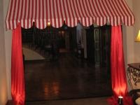 circus-awning-circus theme party St. Louis