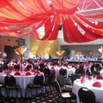 circus theme party decor