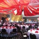 circus theme party decor