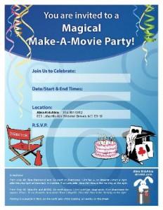 invitation-make-a-movie-party