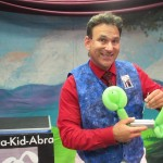 preschool entertainment St. Louis - balloon show