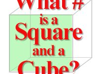 Math Puzzle - What # is a square and a cube