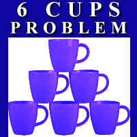 Magic Puzzle - 6 Cups Problem