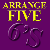 Math Puzzle - Arrange Five Six's