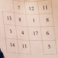 Learn Magic - Lost at Sea - magic square
