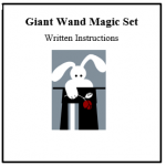 Giant Wand Magic Set Instructions