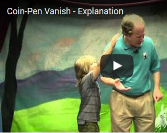 Learn Magic - Coin-Pen Vanish