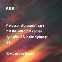 puzzler: abe