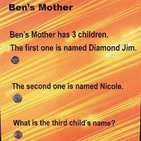 puzzler: ben's mother