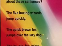 puzzler: unusual sentences
